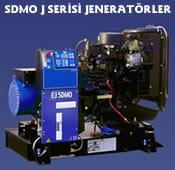 SDMO J Serisi Jeneratör