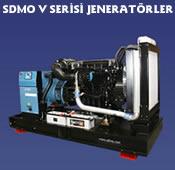 SDMO V Serisi Jeneratör
